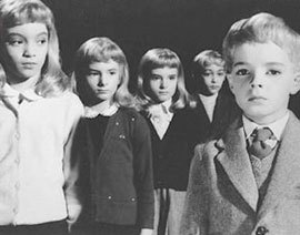 The Midwich Cuckoos: Anti-social behaviour, 1950s style.